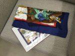 「エルメス 大判スカーフ カレ」買取させていただきました。