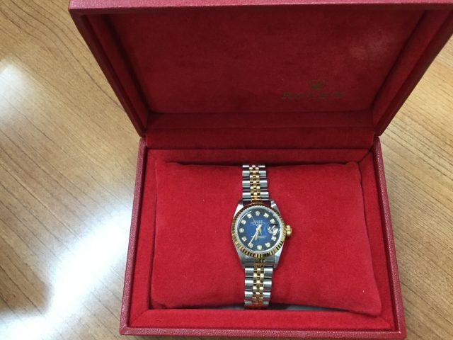 new style 75640 59726 ロレックス ROLEX デイトジャスト 79173G Y番 ブルー ...