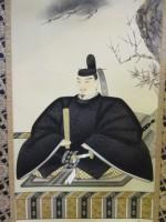 菅公御尊像 佐野麗華 象牙軸先 掛け軸を買取させていただきました!!