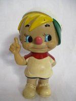 「日清食品 ちびっこ ソフビ人形企業物 当時物」買取させていただきました。