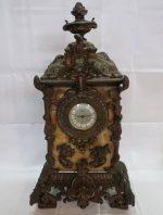 「アンティーク 大理石置時計 ウェラ WEHRLE ドイツ製 」買取させていただきました。