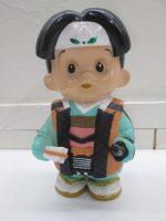 「当時物 信用金庫 信ちゃん 貯金箱 非売品 ソフビ 人形 」を買取させていただきました!