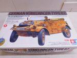 「タミヤ Pkw.K1キューベルワーゲン82型 電動RC 1/16ラジオコントロールカー 戦車 ドイツ 未組立」買取させていただきました。&リサイクルショップバイキング黒部店 宣伝。