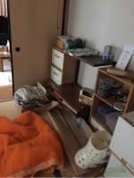 金沢市内売却予定の不動産一軒家内の買取と処分