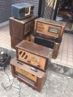 真空管ラジオを買取させていただきました