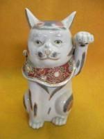 「九谷焼 招き猫骨董」買取させていただきました。