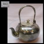 「純銀 銀瓶 湯沸 銚子 約380g 銀製 煎茶道具」を買取させていただきました。