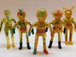 「当時物 スケルトンソフビ 仮面ライダー 超人バロム 人造人間キカイダー 変身忍者嵐 ビンテージ 変身サイボーグ 」買取させていただきました。